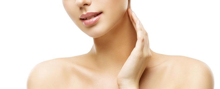 Você tem cuidado da pele do pescoço?