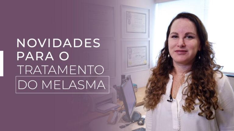 O melasma é uma doença crônica da pigmentação da pele. Não tem cura, mas tem tratamento.